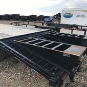 2017 Load Trail 102x22 LT Bumper Pull Deckover Flatbed Trailer