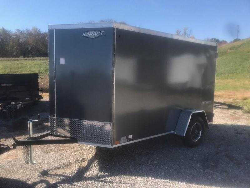2019 Impact Trailers 6x10 Enclosed Cargo Trailer