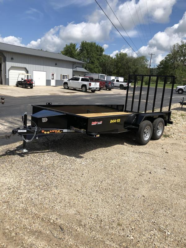 2020 Doolittle Trailer Mfg 84X14 DOOLITTLE SS 7K GVW 5' MESH GATE Utility Trailer