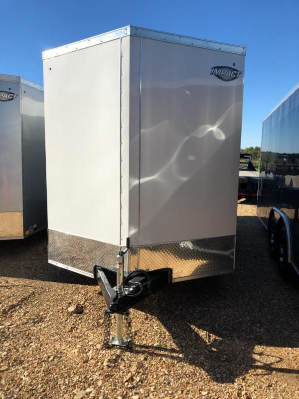 2019 Impact Trailers 7X14 Enclosed Cargo Trailer