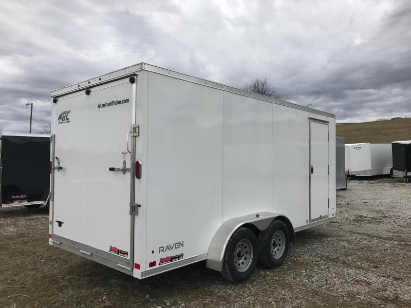 2018 Aluminum Trailer Company ATC 7X162 RAVEN ALUMINUM FRAMED Enclosed Cargo Trailer