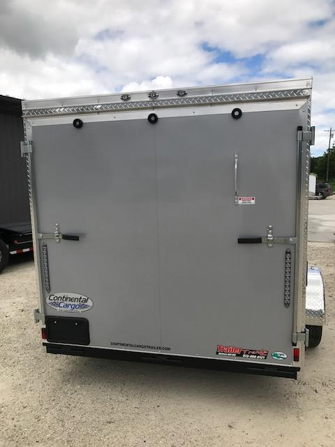 2018 Continental Cargo 6.5x12 V SERIES RAMP DOOR Enclosed Cargo Trailer