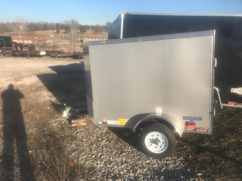 2019 Continental Cargo 4X6 Enclosed Cargo Trailer