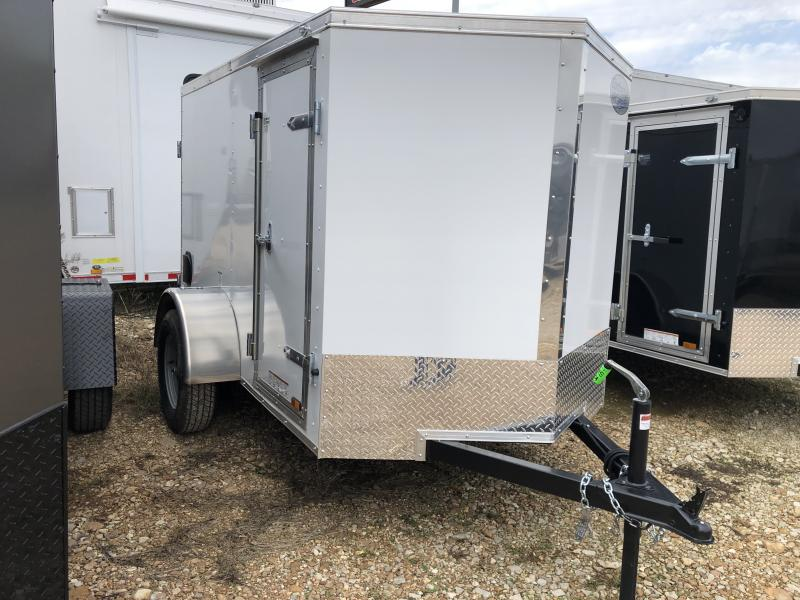 2019 Continental Cargo 4X6 Enclosed Cargo Trailer