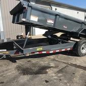 2019 Doolittle Trailer Mfg 82X16 Dump Trailer