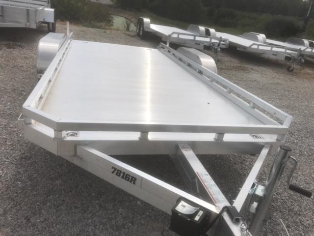 2019 Aluma 7816 RAMP Utility Trailer