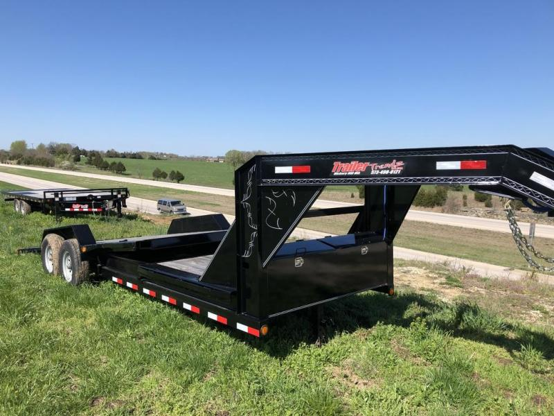 "2018 Load Trail 83"" X 22' Tilt-n-go Gooseneck Tandem Axle Equipment Trailer"