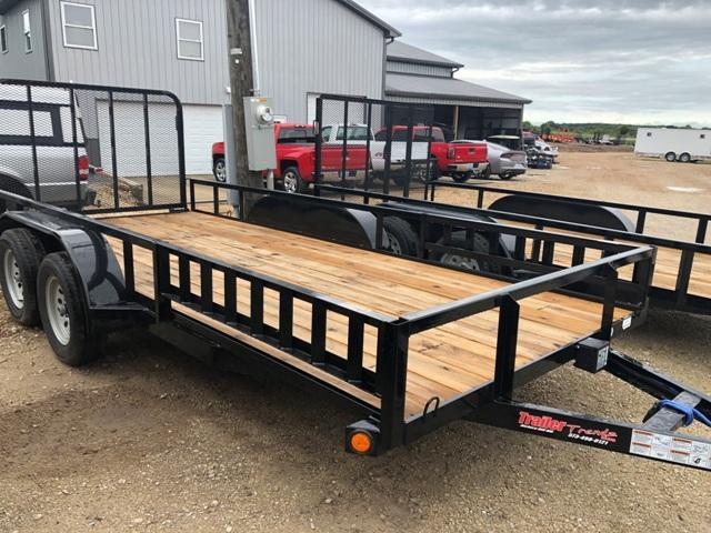 2019 Load Trail 77X16 UE Utility Trailer