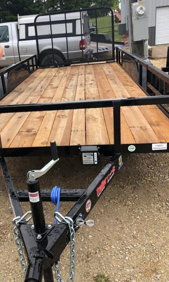 2019 Load Trail 77X16 UE Utility Trailer