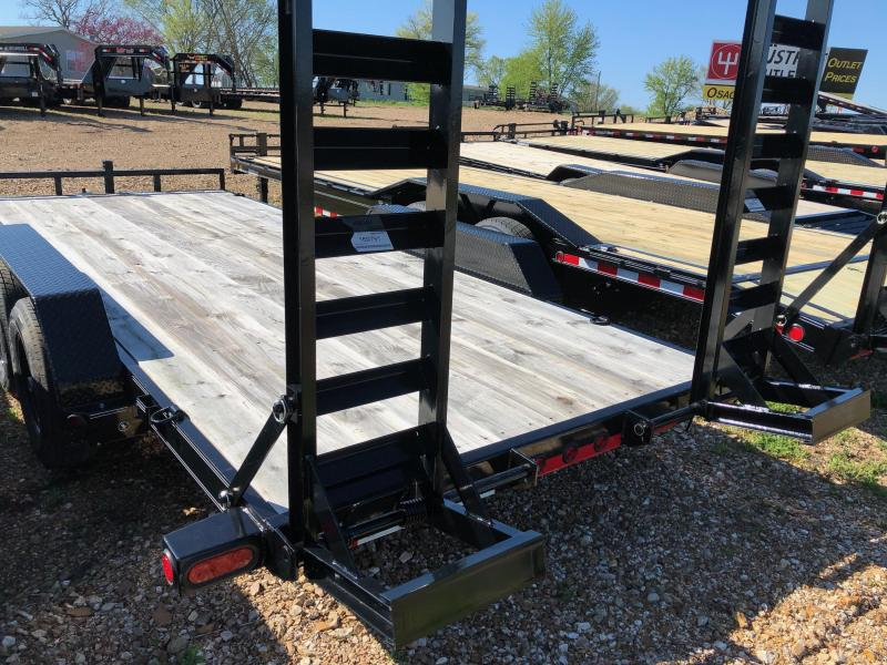 "2018 Load Trail 83"" X 18' Tandem Axle Carhauler Car / Racing Trailer"