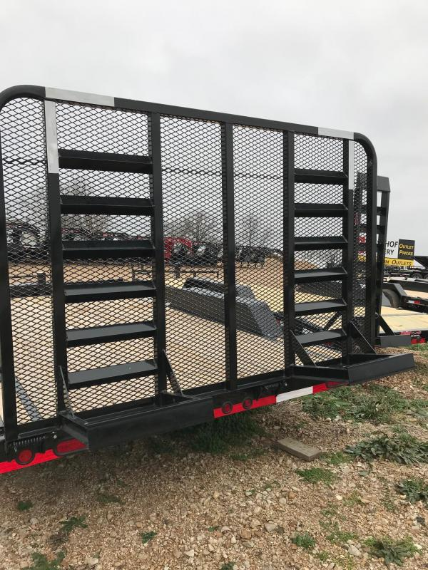 2018 Load Trail CH102X16 Flatbed Trailer 102\