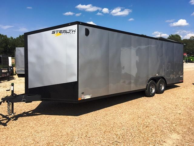 2019 Stealth Trailers 8.5X24 TITAN Car / Racing Trailer
