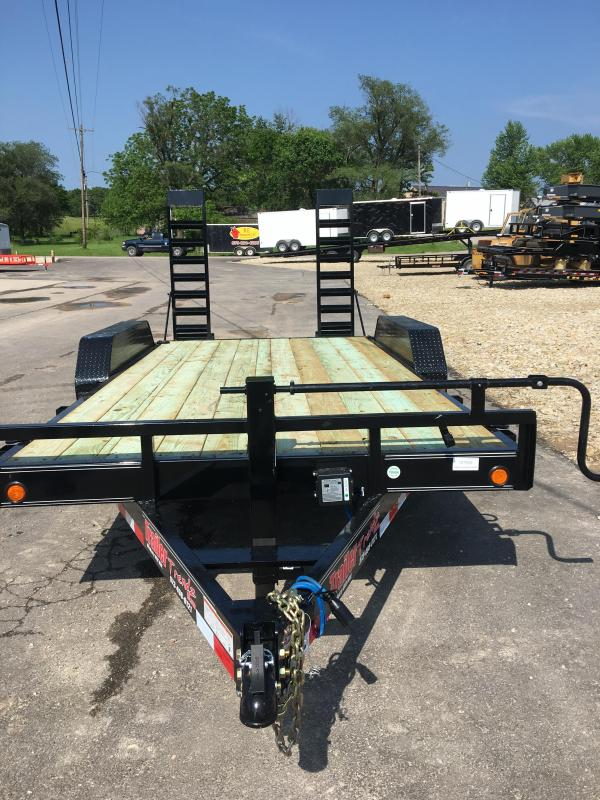 "2019 Load Trail 83"" X 16' Tandem Axle Carhauler Car / Racing Trailer"