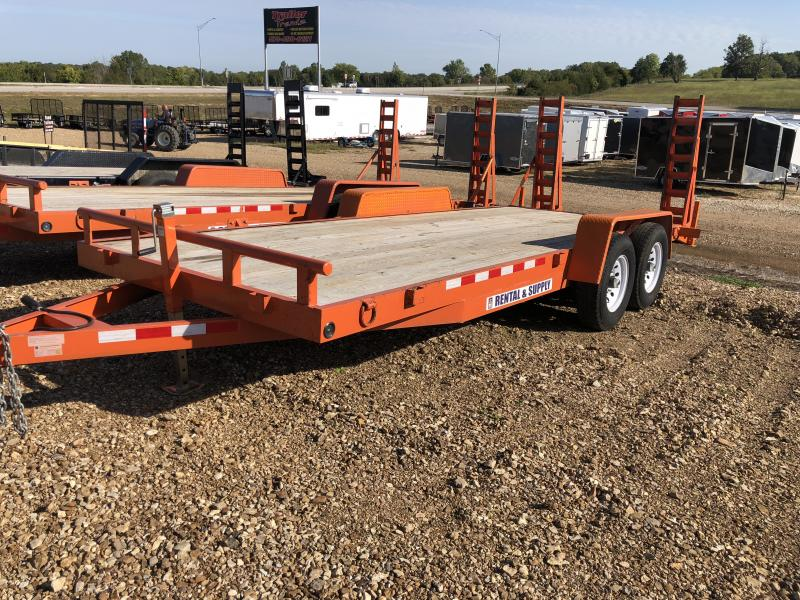 2017 Other STAG 82X20 Flatbed Trailer