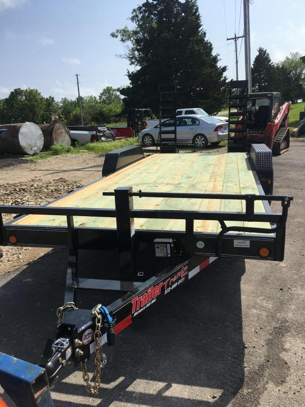 "2019 Load Trail 83"" X 20' Tandem Axle Flatbed Trailer"