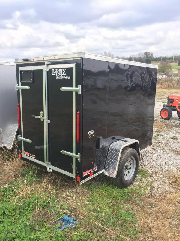 2018 Look Trailers 5x8 ST DLX Enclosed Cargo Trailer