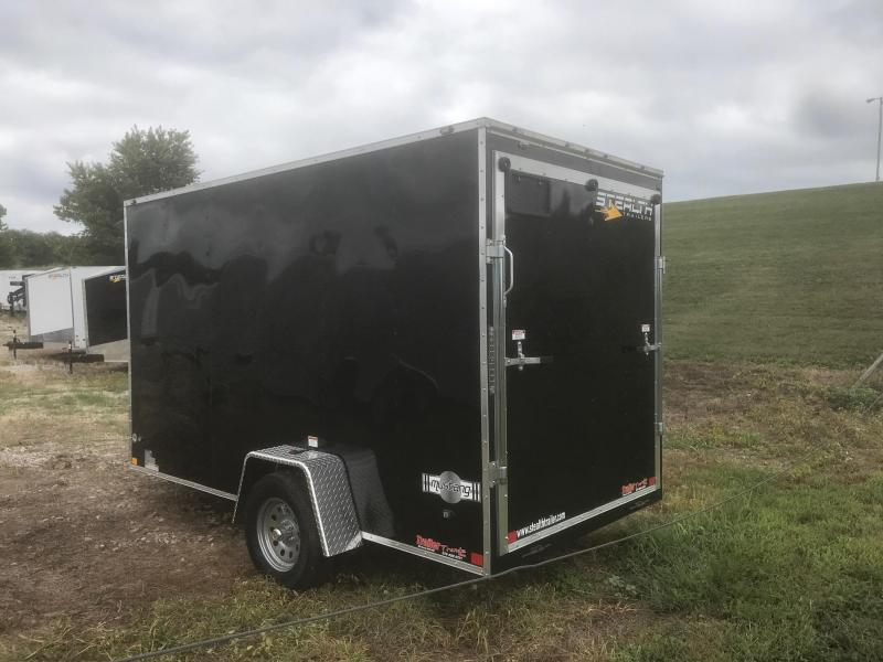 2019 Stealth Trailers 6X12 BLACK MUSTANG Enclosed Cargo Trailer