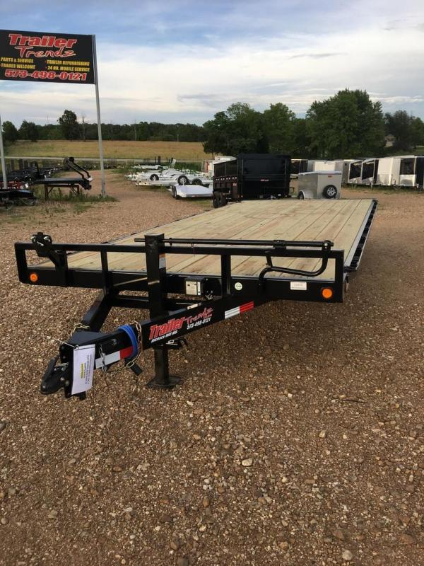 2019 Load Trail LOAD TRAIL DECKOVER PINTLE Flatbed Trailer