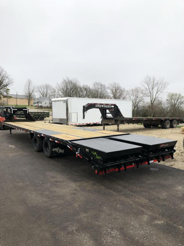 "2019 Load Trail 102"" X 40' Tandem Low-pro Gooseneck Equipment Trailer"