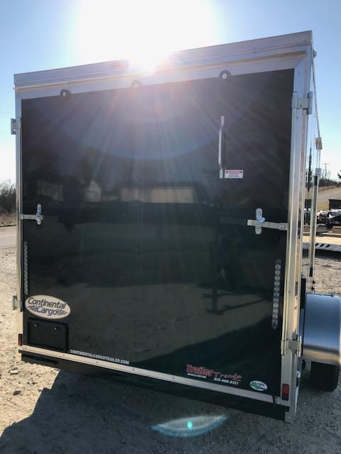 2018 Continental Cargo 6.5X12 V SERIES RAMP DOOR Enclosed Cargo Trailer