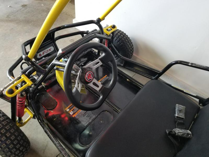 2017 American Land Master Black Widow Go Cart