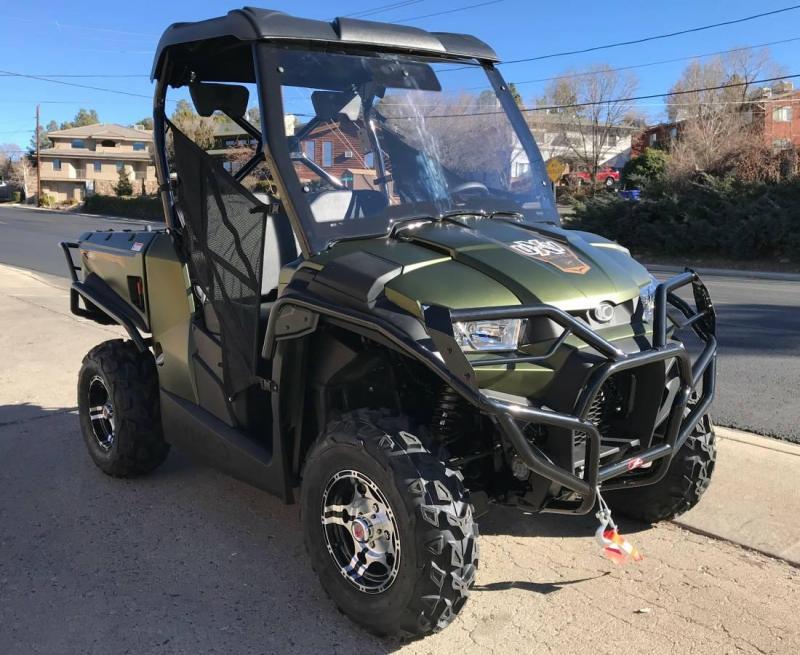 2018 Kymco UXV 450I Hunter Edition Utility Side-by-Side (UTV)