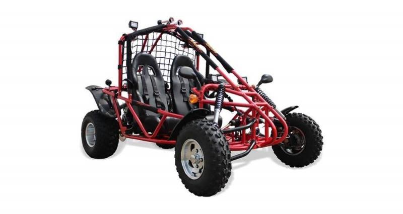 2020 Bennche GK200 Red Go Kart