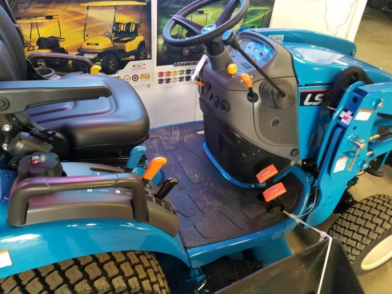 2018 LS Tractor LS MT125 Sub Compact Tractor W Loader and Backhoe