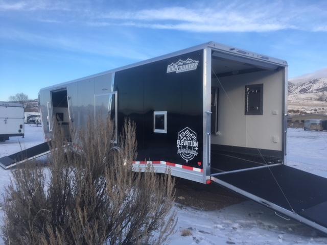 2019 High Country Goose Neck Snowmobile Trailer