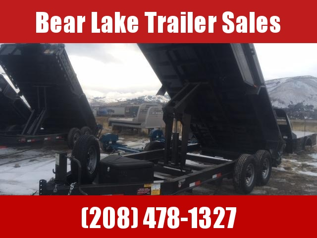 2019 Titan Smooth Sided Dump Trailer