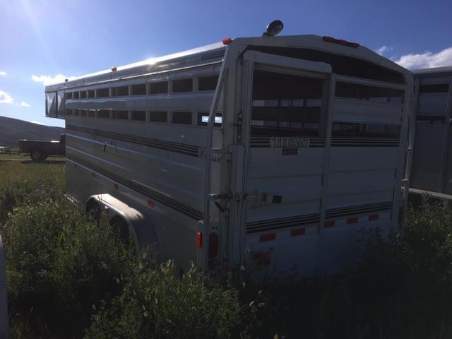 1998 Titan Trailers 16' Classic Stock Livestock Trailer