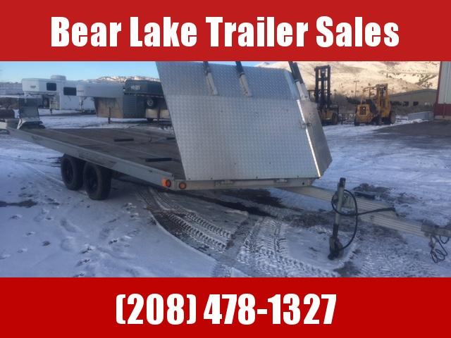 2004 Aluminum Snowmobile Trailer