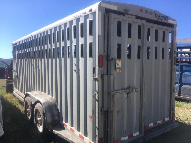 2001 Trailman Livestock Trailer