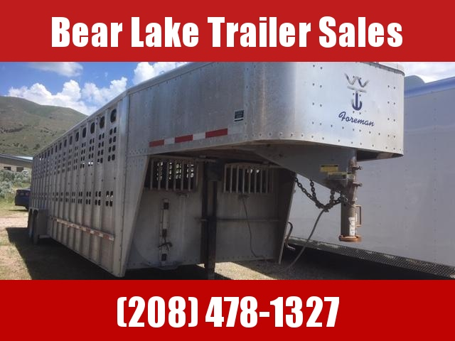 2008 Wilson Trailer Company Stock Trailer Livestock Trailer