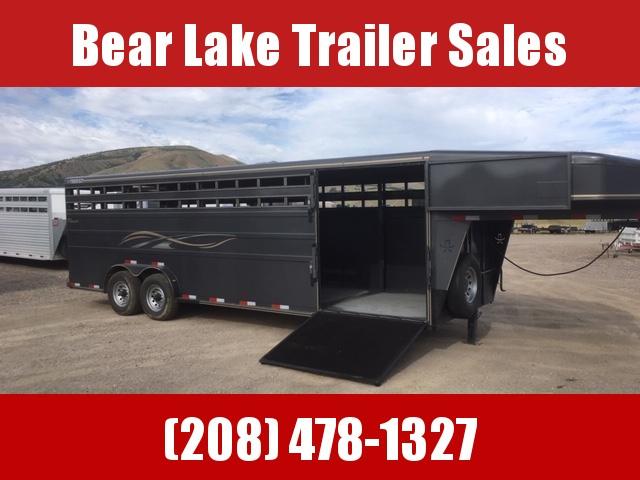 2019 Titan Trailers 24' Classic Stock trailer Livestock Trailer