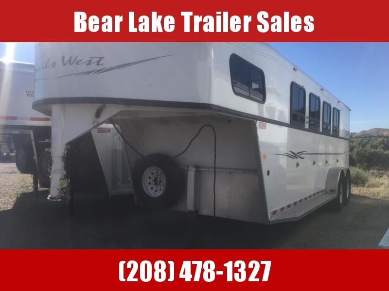 2012 Trails West Sierra Horse Trailer