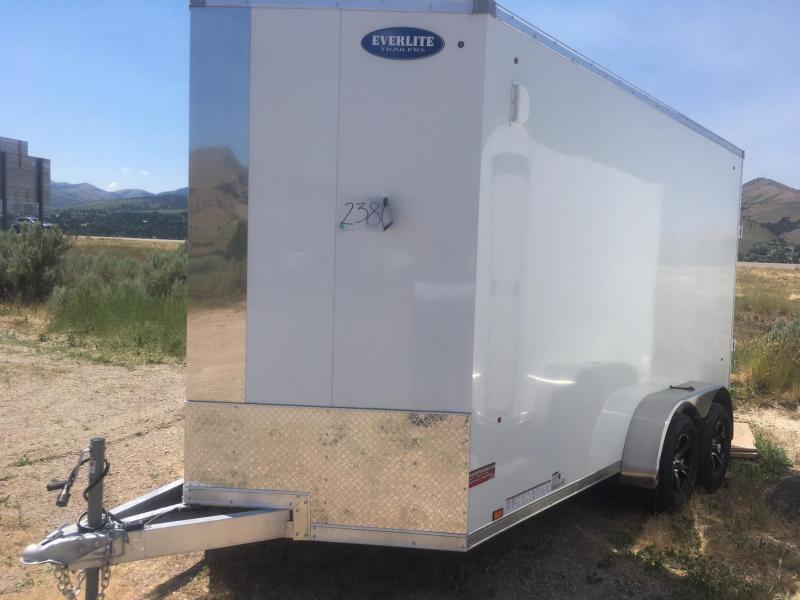 2019 EverLite Inc. AEWL7x14 Enclosed Cargo Trailer