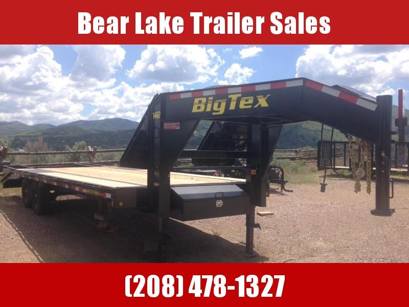 2018 Big Tex Trailers 14GN-205 Flatbed Trailer