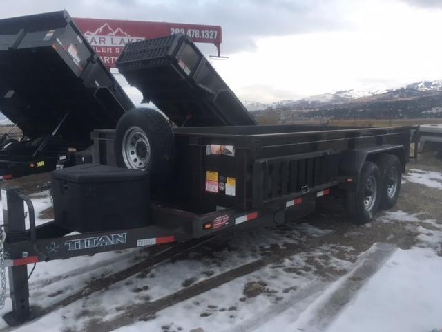 2019 Titan 14 BH dump Trailer