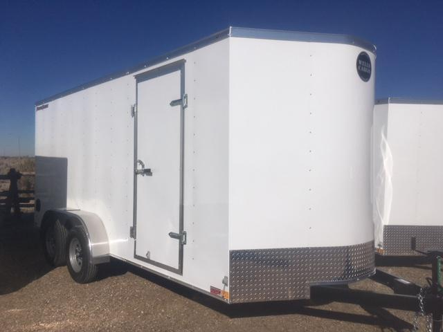 2019 Wells Cargo 7x16 Enclosed Trailer