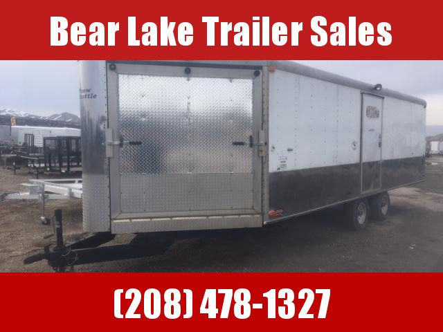 2000 Charmac 4 place Snowmobile Trailer