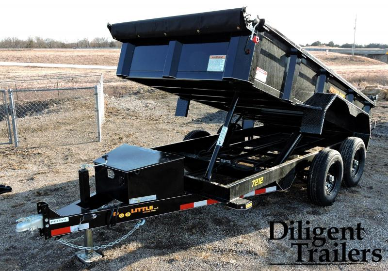2019 Doolittle Trailer Masterdump 7200 Series 6 x 12 Tandem Axle 10K Dump Trailer