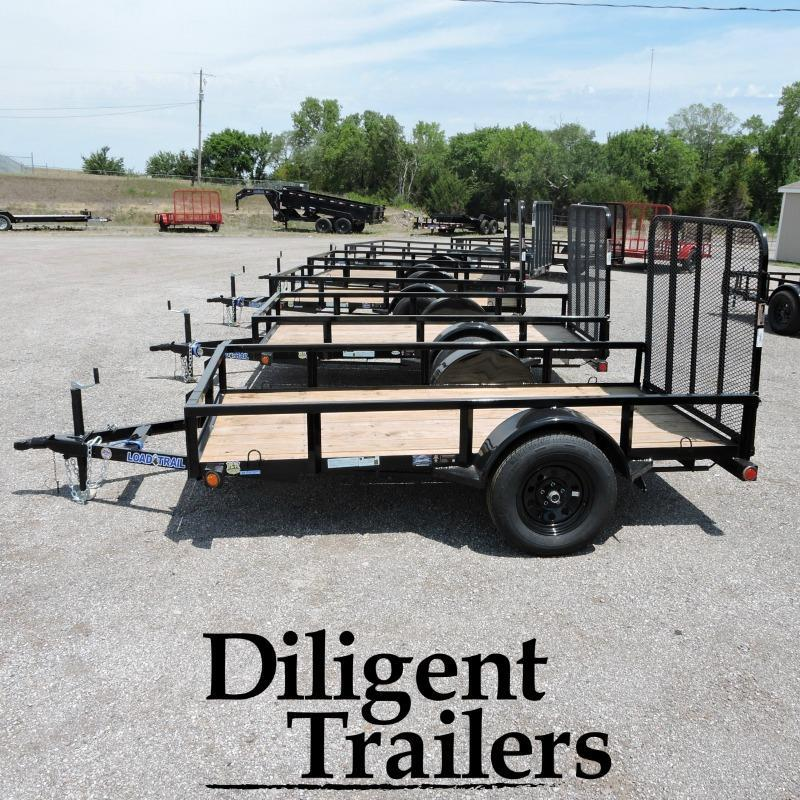 "2018 Load Trail 60"" x10' Single Axle Utility Trailer"