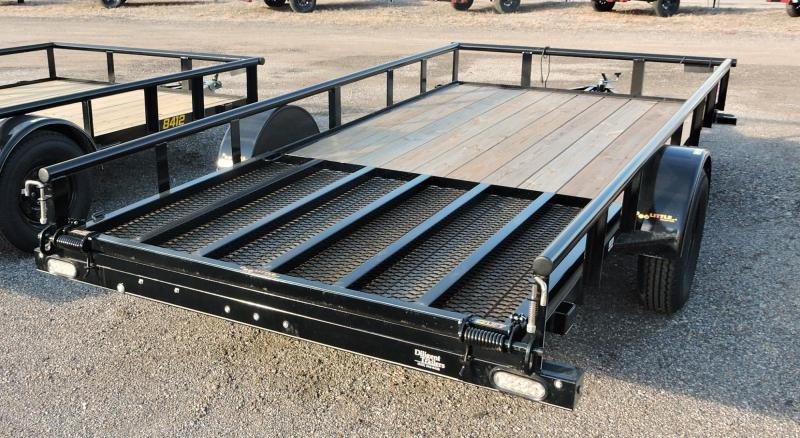 "2019 Doolittle Trailer 77"" x14' Single Axle Utility Trailer"