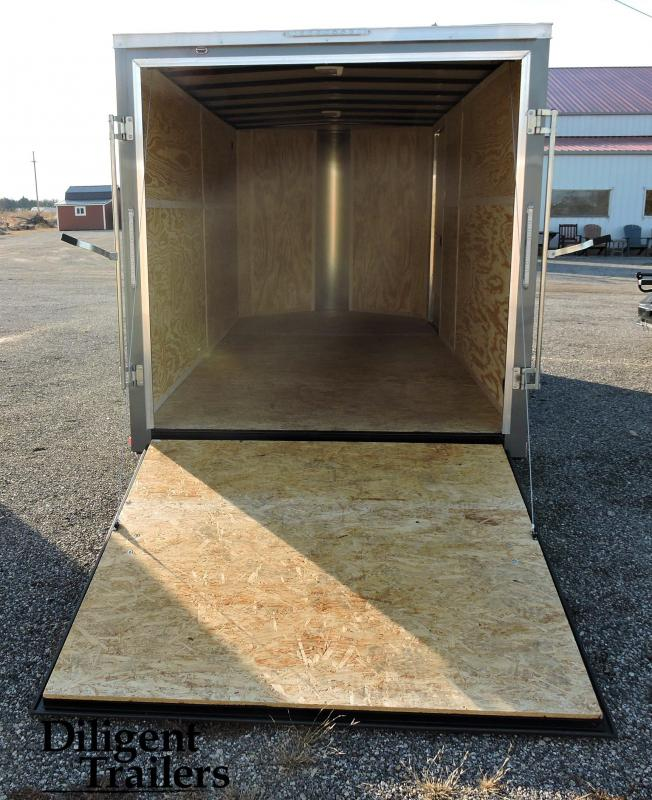 2019 Doolittle Trailer 7'x16' Enclosed Cargo Trailer