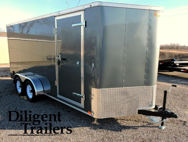 2019 Doolittle Trailer 7'x16' Enclosed Cargo Trailer