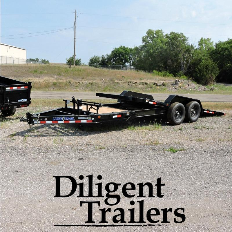 "2018 Load Trail 83"" x20' Tandem Axle Tilt Deck"