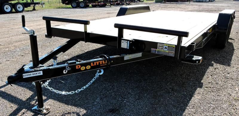 2019 Doolittle Trailer Mfg Channel Flatbed 7K Equipment Trailer