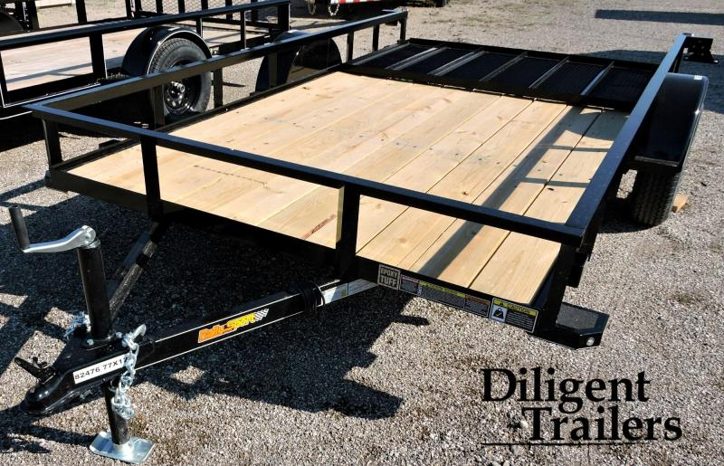 2019 Doolittle Trailer Mfg Rally Sport 770 Series 3.5 K Single Axle Utility Trailer