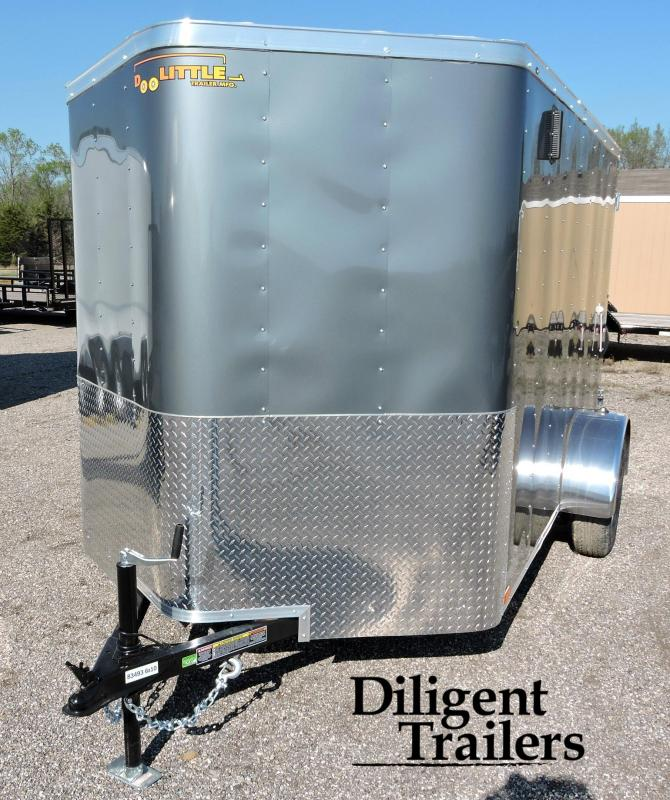 2019 Doolittle Trailer Mfg Bullitt 6 Wide Single Axle 3K Enclosed Cargo Trailer